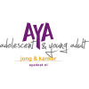 Logo AYA jong & kanker incl websitevermelding